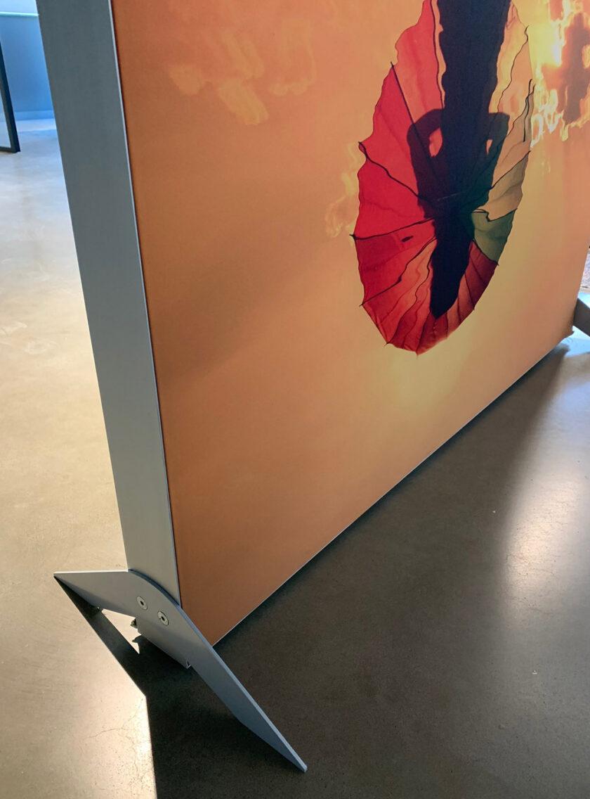 akoestisch bureauscherm connect kantoor zijpoten