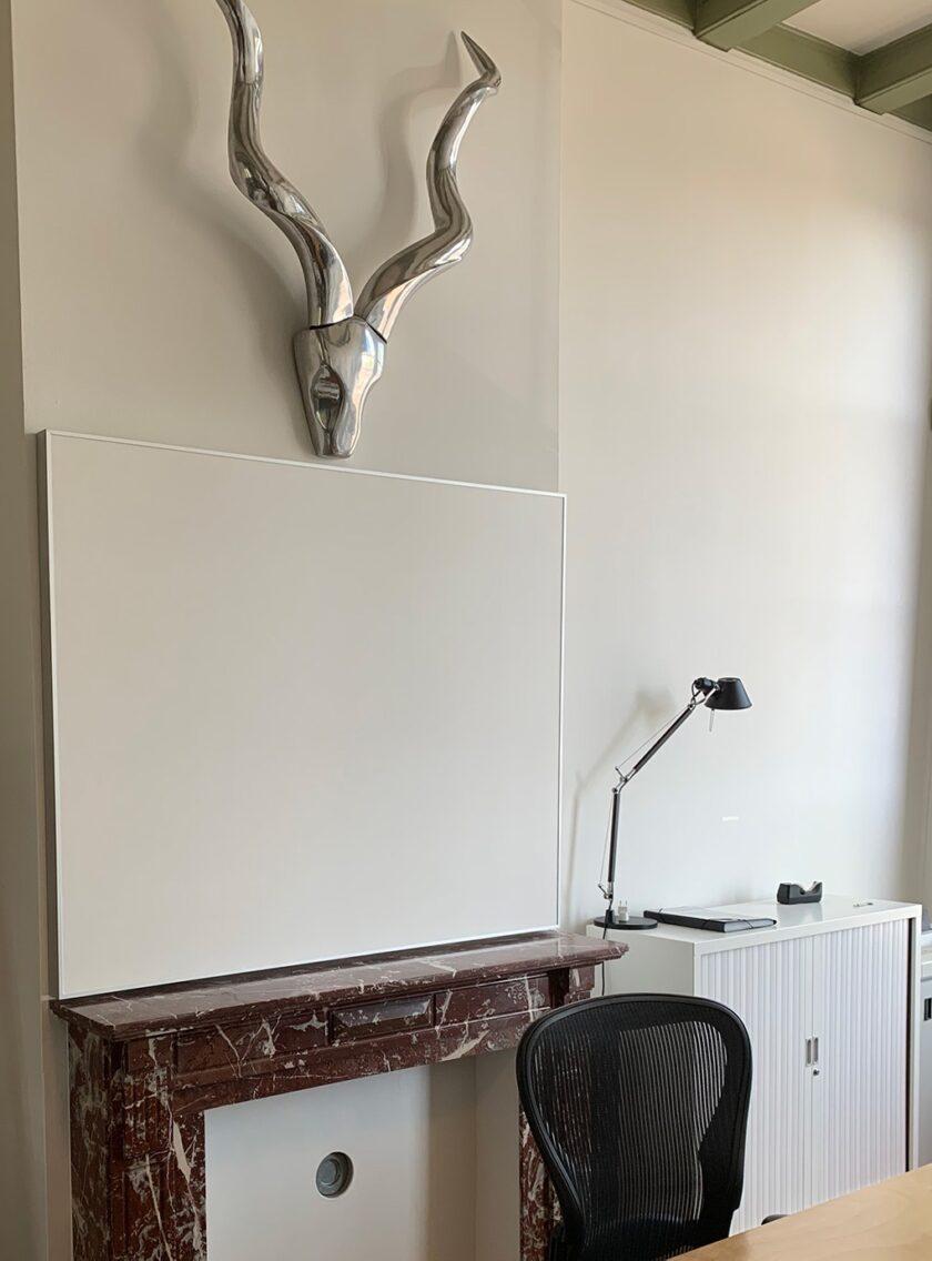 akoestisch wandpaneel kantoor woning