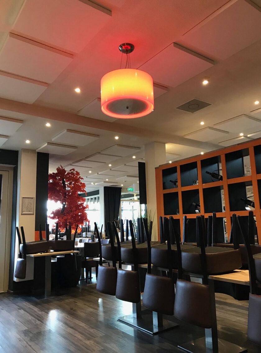 akoestisch plafondpaneel direct control restaurant 3