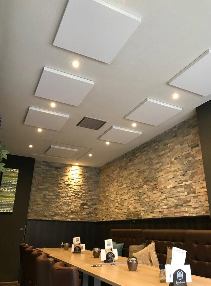 akoestisch plafondpaneel direct control