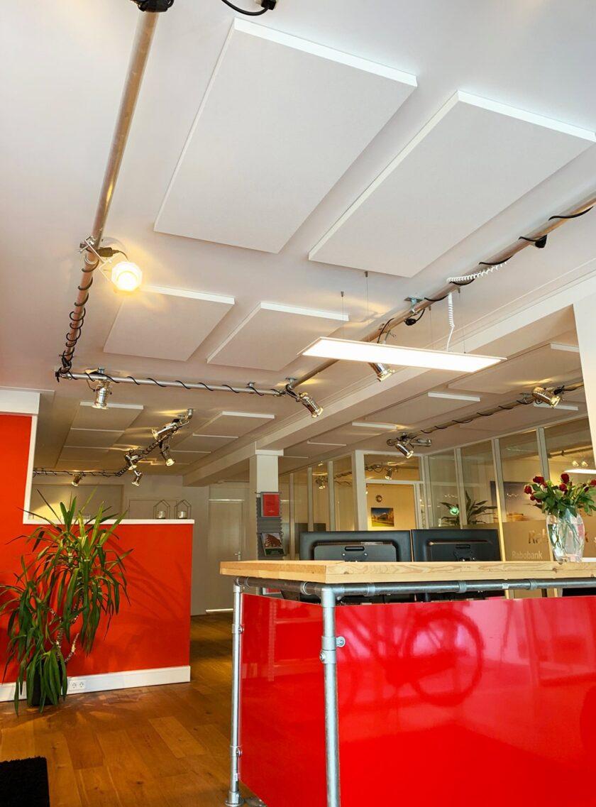 akoestisch plafondpaneel direct control makelaar kantoor 2