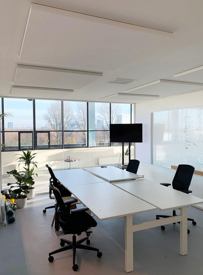 akoestisch plafondpaneel direct control kantoor 3