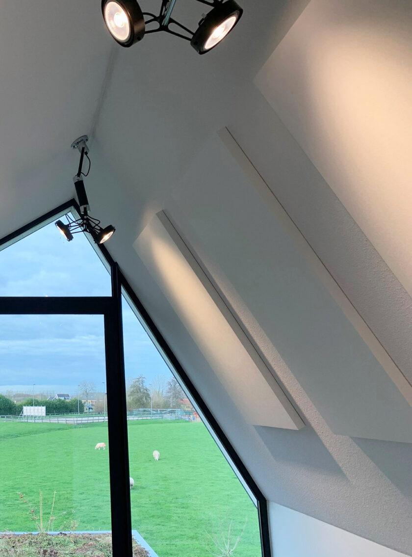 akoestisch plafondpaneel direct control woning