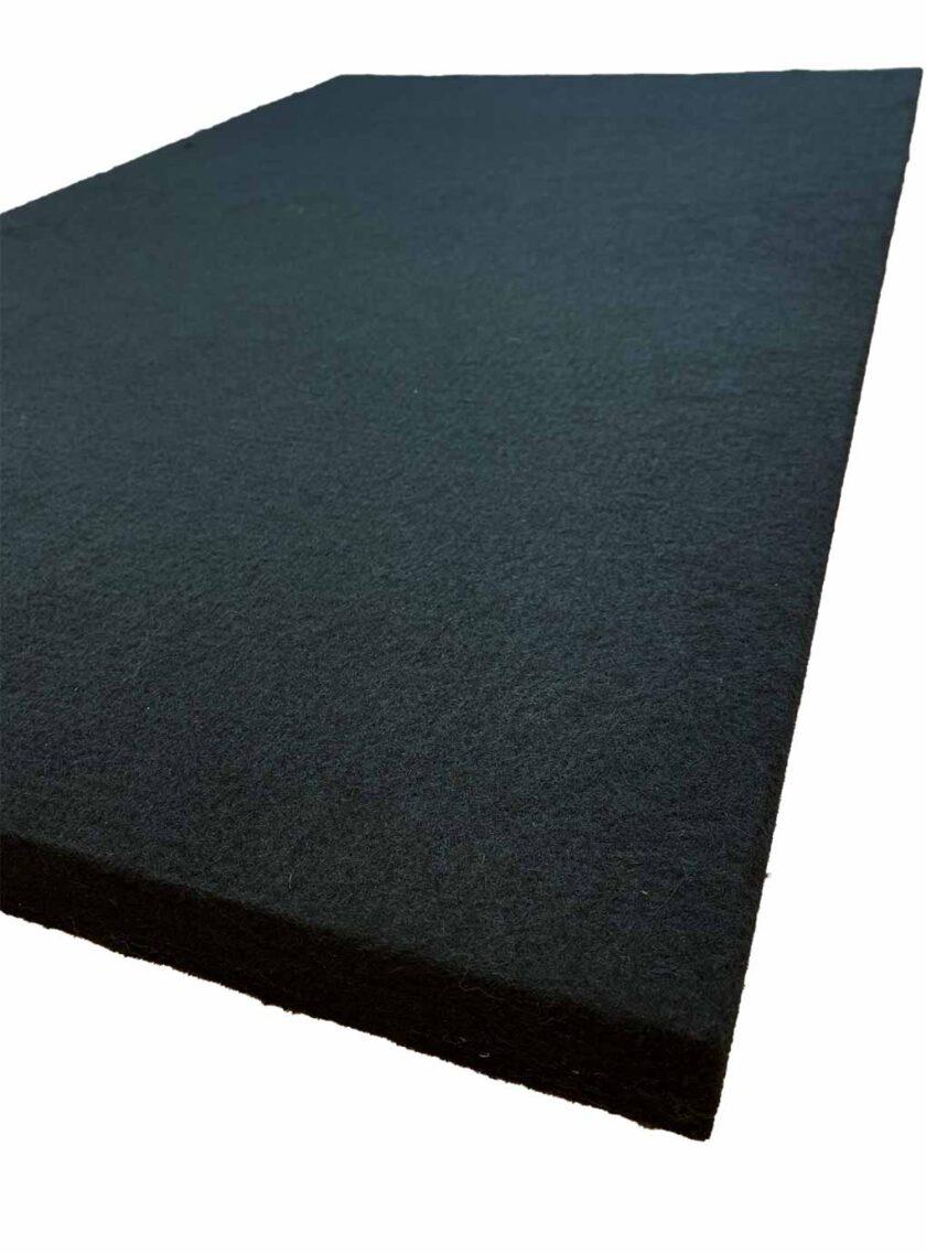 akoestisch polyesterwol zwart