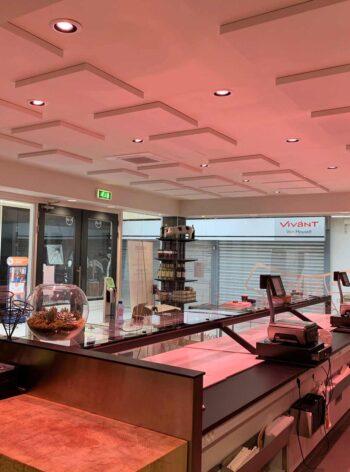 akoestisch plafondpaneel direct control winkel